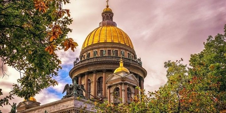 St. Isaac's Cathedral, St. Petersburg, Russia