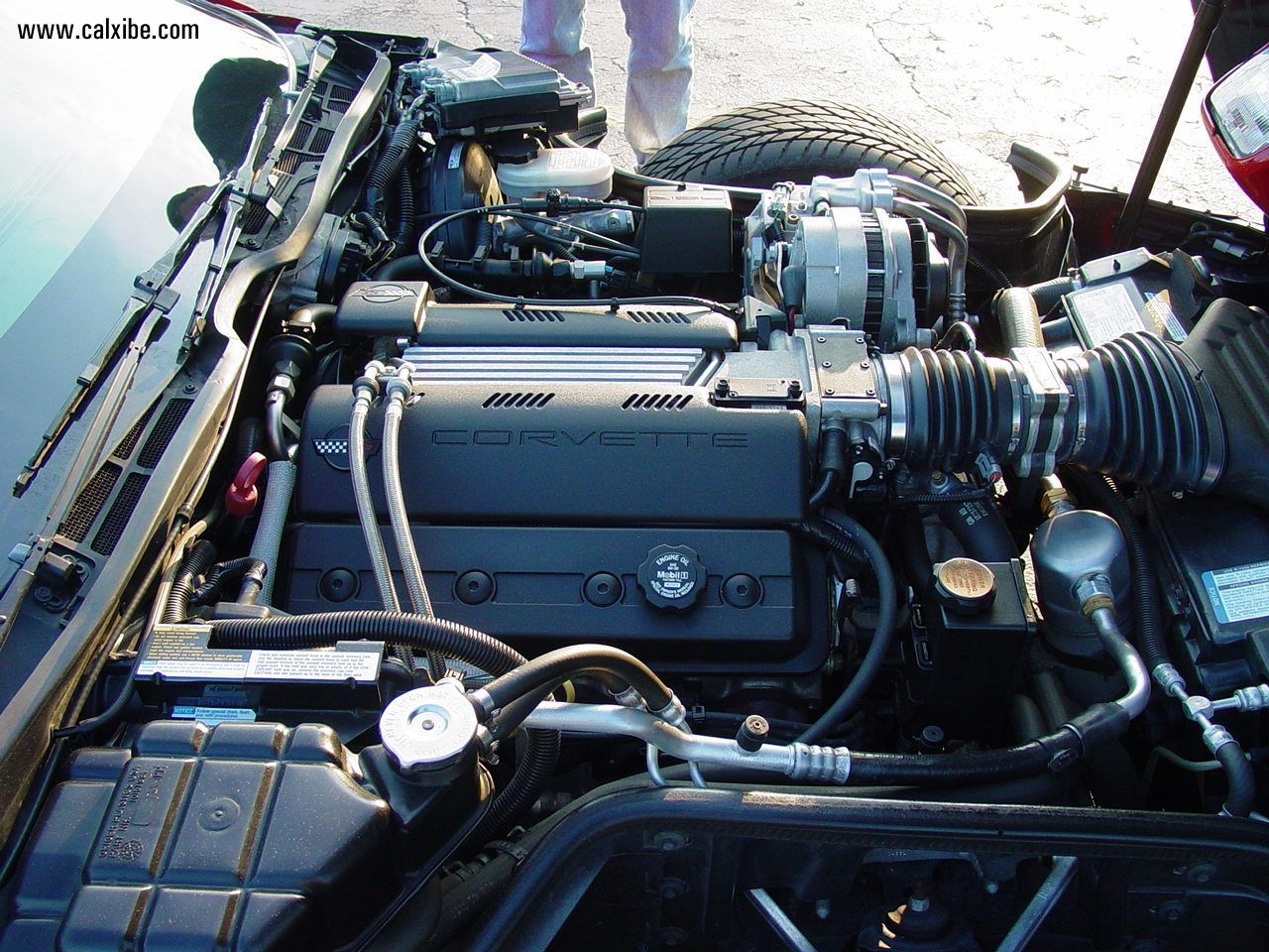 Motor 1996 Chevrolet Corvette Lt1 V8 Engine Picture Nr 13178