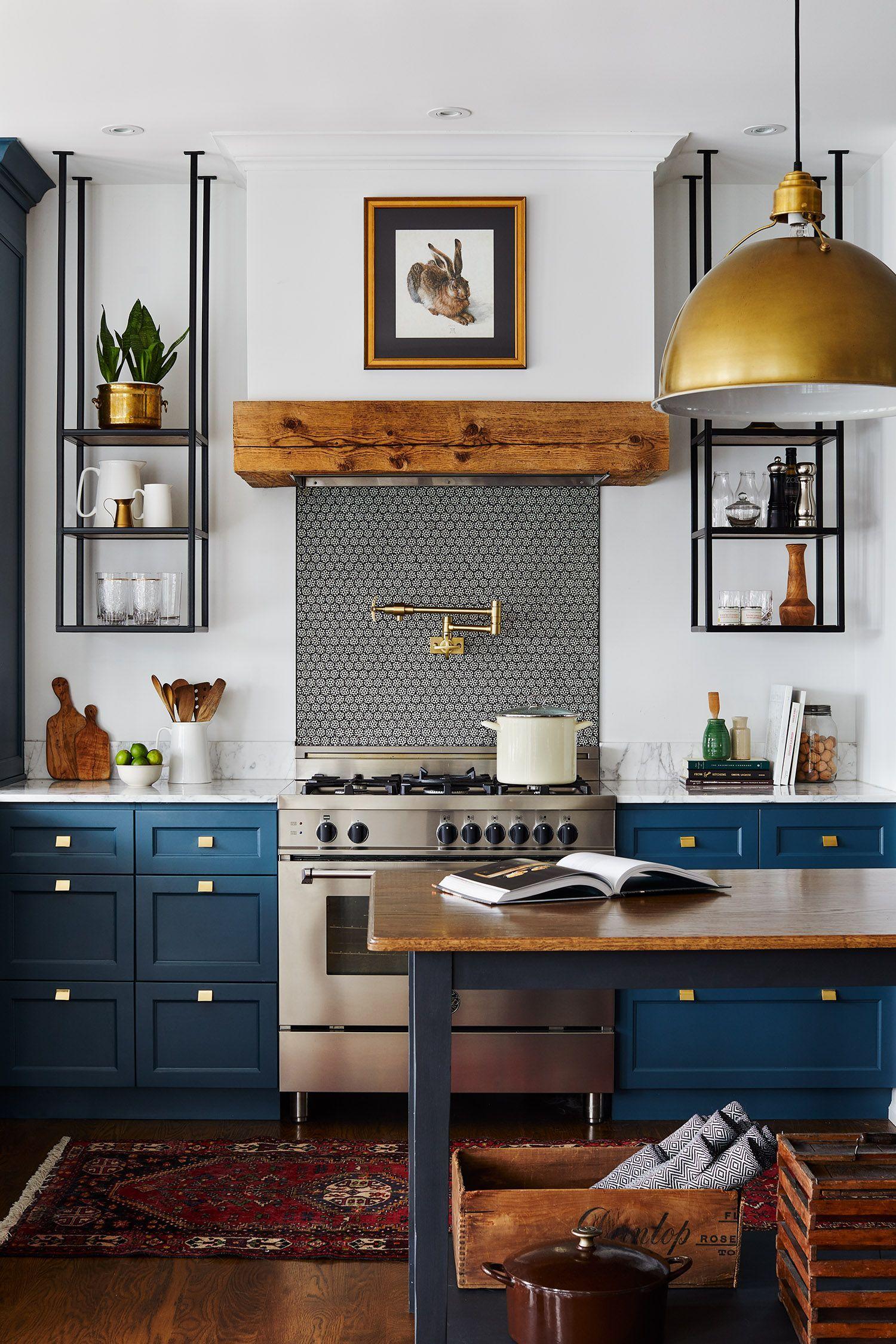 Blanc Design Kitchen Living Marine Shabby Chic Kitchen Blue In 2020 Kitchen Interior Kitchen Inspirations Interior Design Kitchen