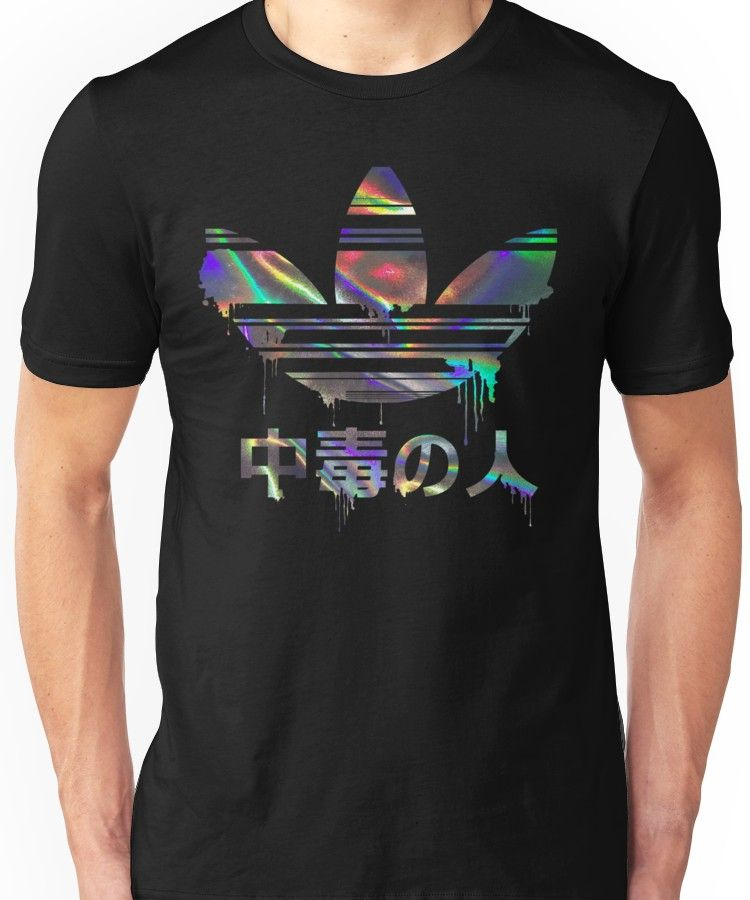 Addict Holographic Slim Fit TShirt in 2019 T shirt