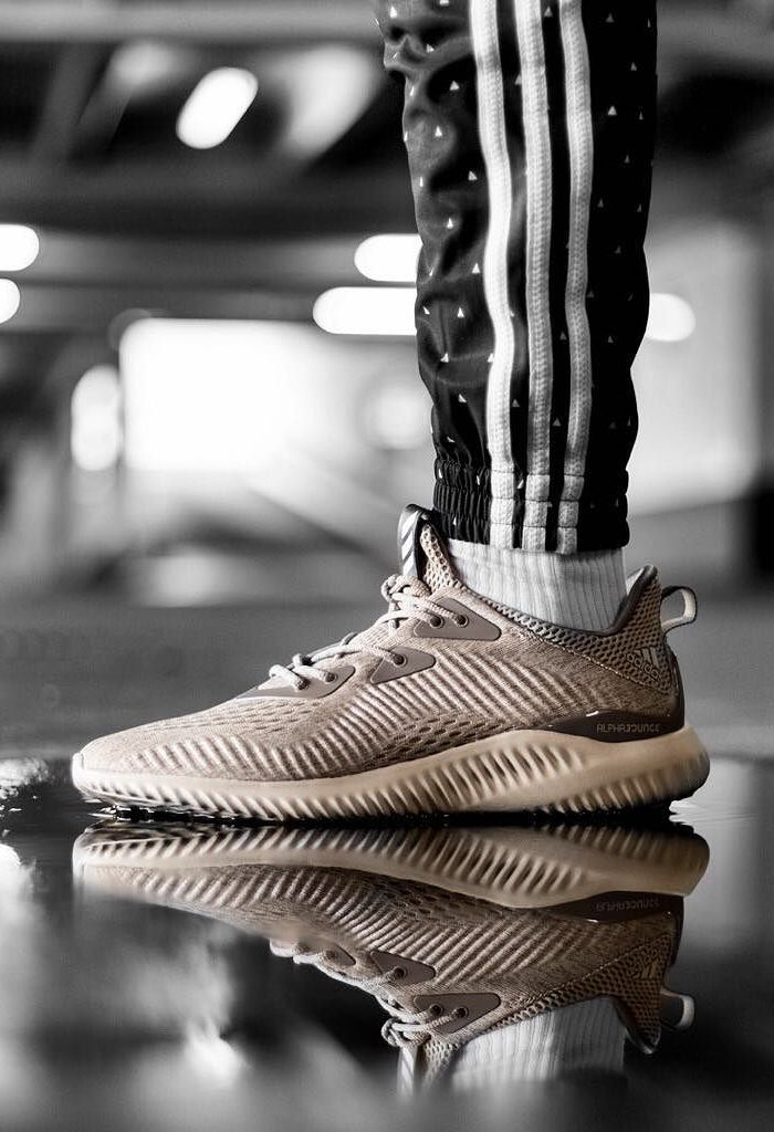 4799f728e adidas AlphaBounce EM  Brown  (via Kicks-daily.com)