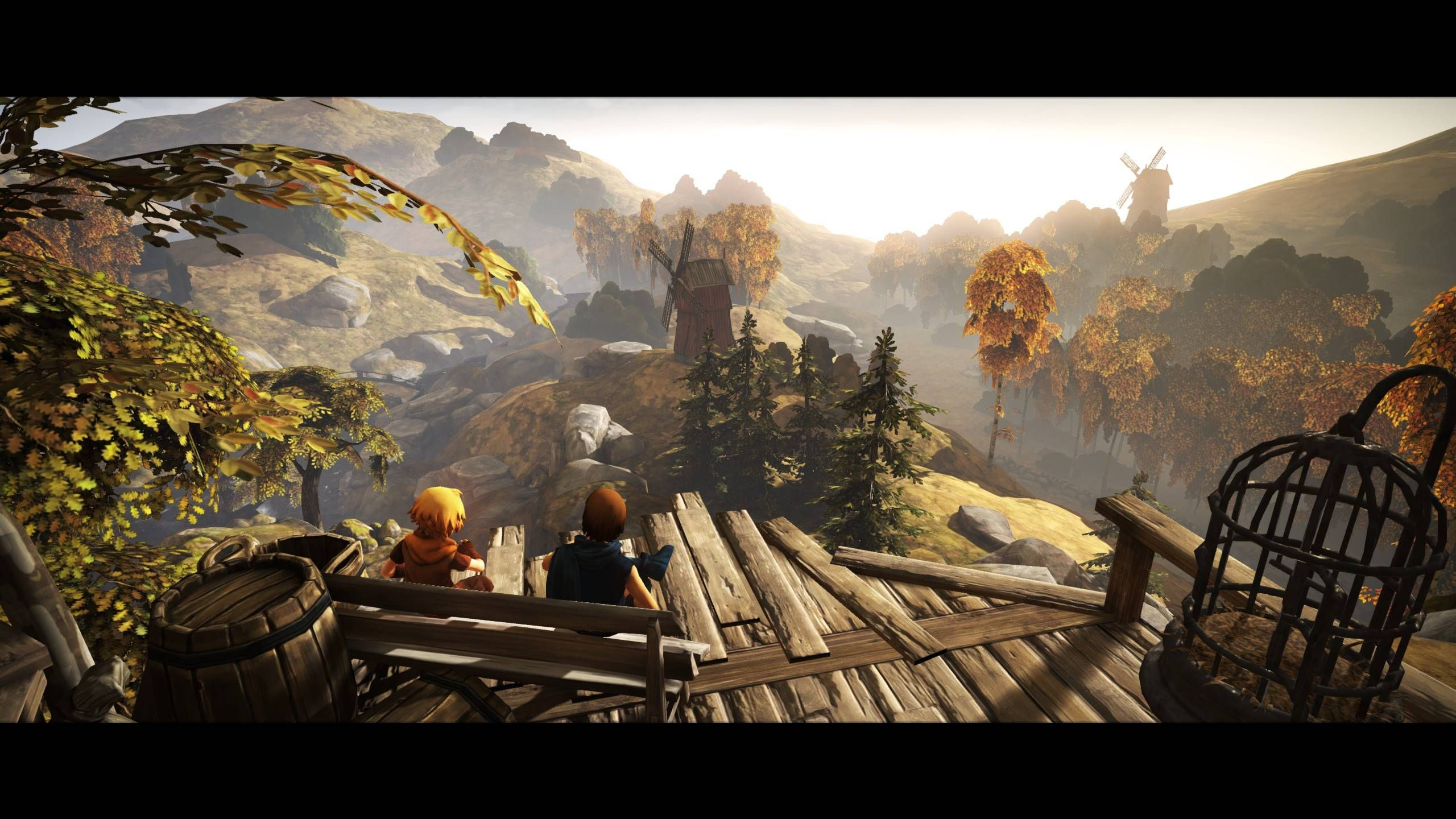 Brothers A Tale Of Two Sons Brother Concept Art Sons