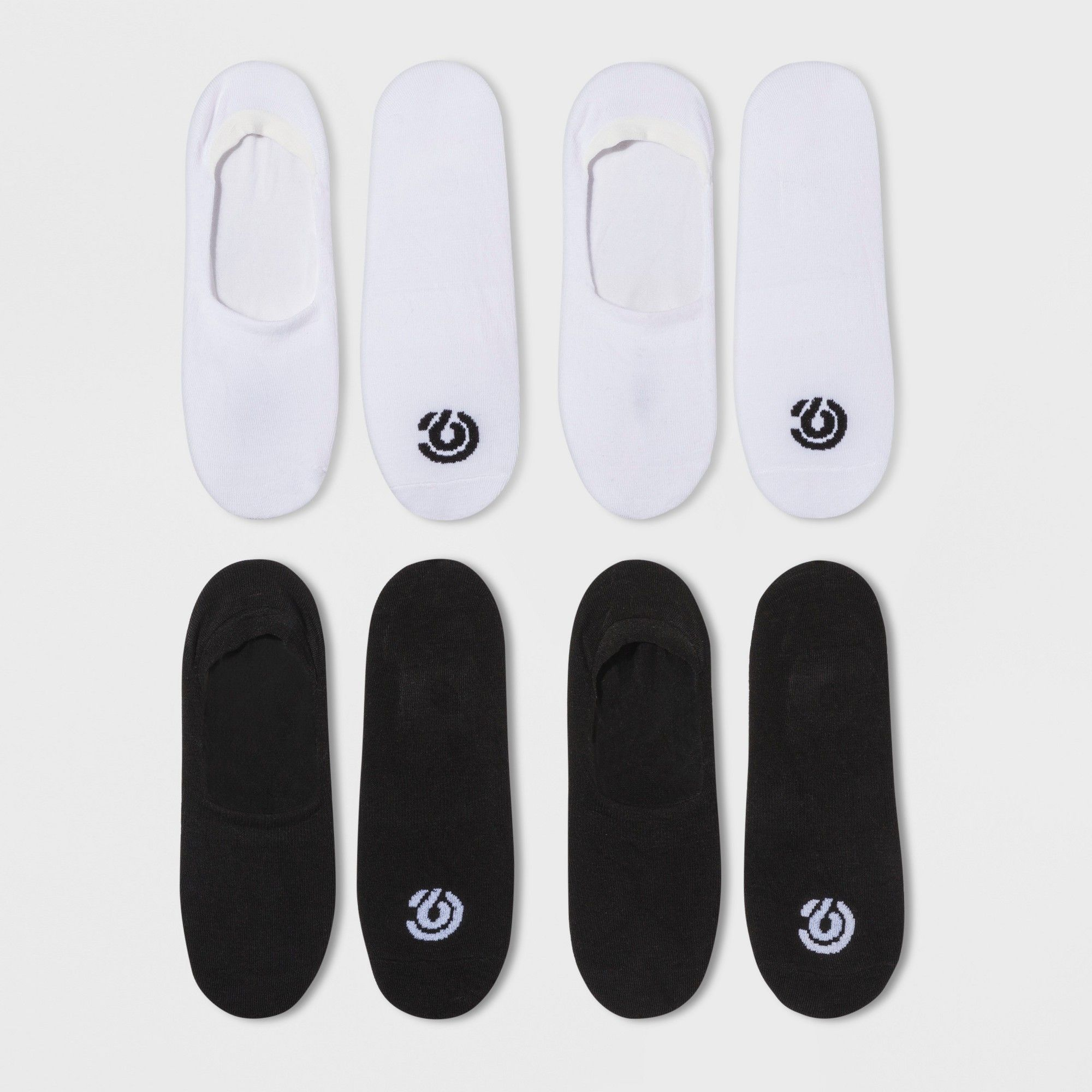 7ecee46aee1 Women s Training Invisible Liner Extended Size Athletic Socks - C9 Champion  Black White 8-12
