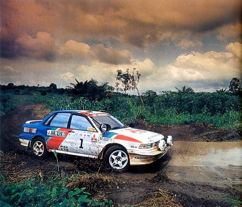 Gruppe g rallye auto