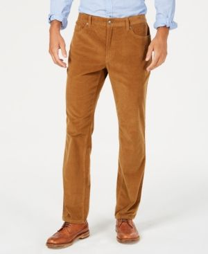 becceaacedb Club Room Men's Stretch Corduroy Pants, Created for Macy's - Brown 34x32