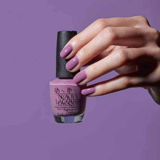 Esmalte morado OPI - Esmalte en color lila mate de OPI. Los colores ...