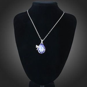 ARINNA Christmas Gift Dragonlfy Purple WGP 18K Fashion Lady Pendant Necklace | eBay