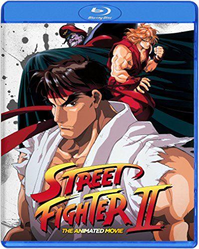 Street Fighter Ii The Animated Movie Blu Ray Blu Ray Street