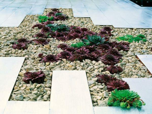 Garten Gestaltung Ideen Steinweg Einfahrt | Gartenmöbel ... Gartengestaltung Ideen Mit Einfahrt