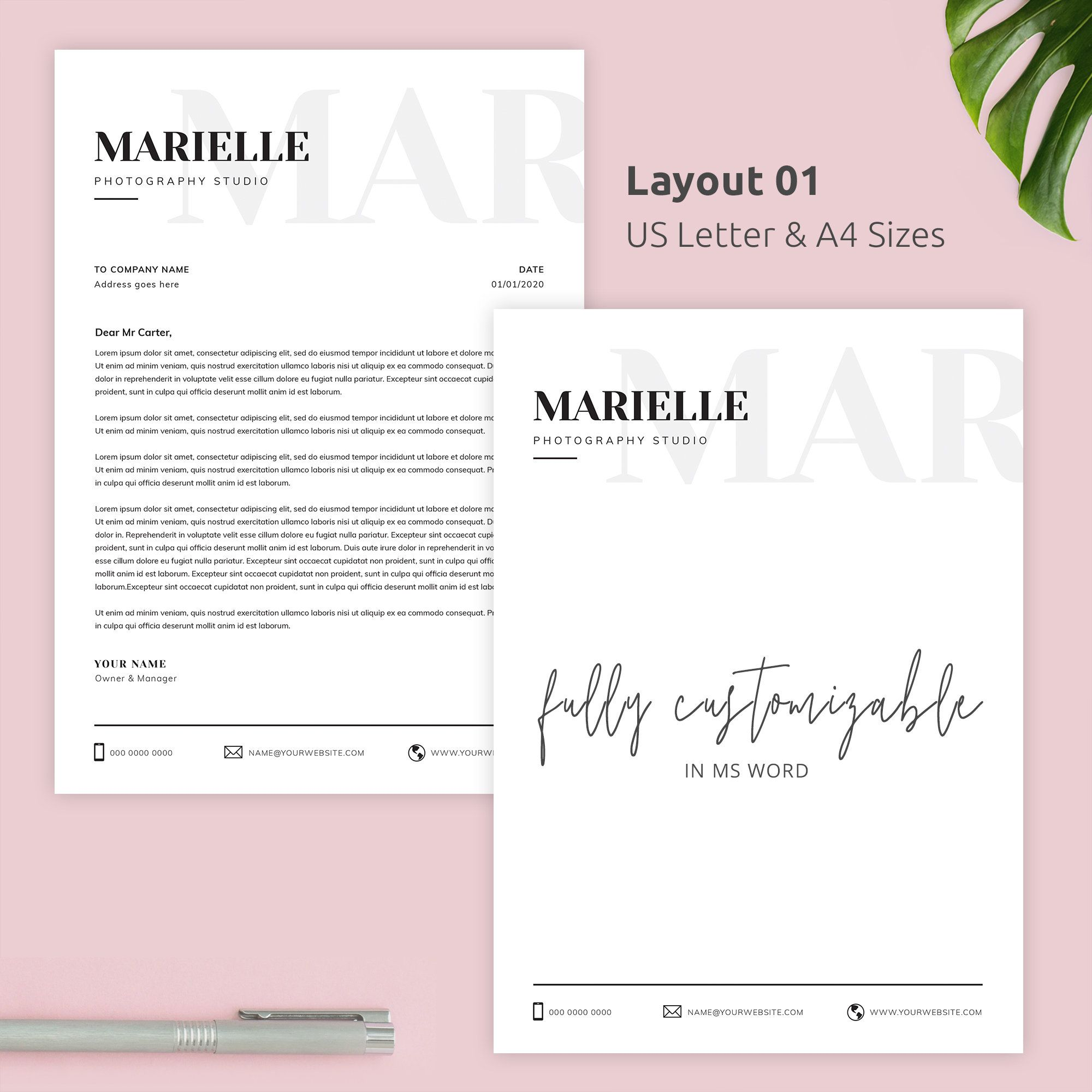 letterhead template ms word, minimalist letter cv sample for hotel job accounts payable manager resume entry level medical receptionist objective