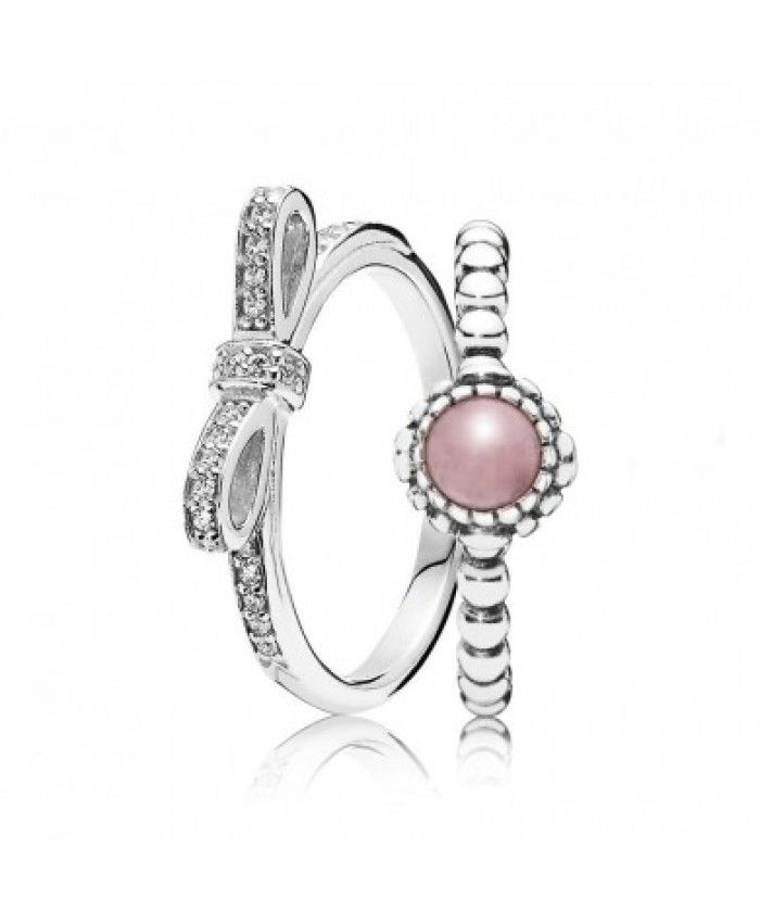 e0ef237710a54 Pandora Opulent October Birthstone Ring Stack Thanksgiving | Pandora ...