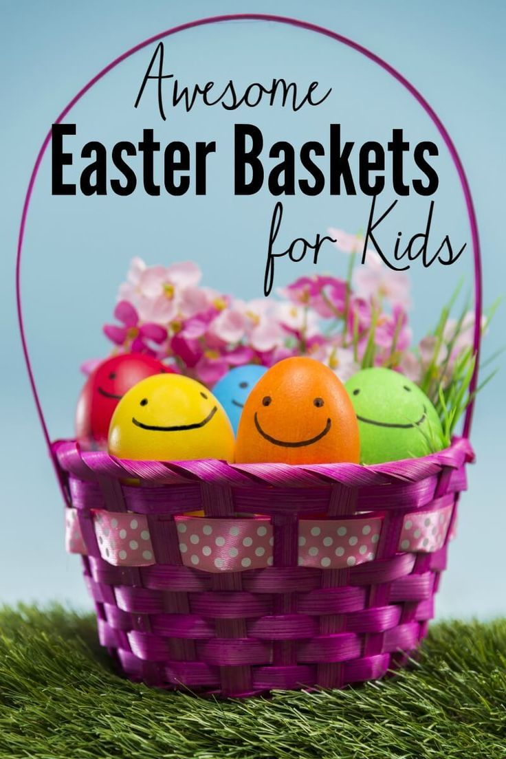 Awesome inexpensive easter baskets for toddlers easter baskets easter awesome easter baskets for toddlers negle Image collections