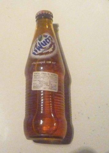 Old-Glass-FANTA-Orange-Bottle-THAILAND-2003-Coca-Cola-250ml-Asia-Collect-Rare