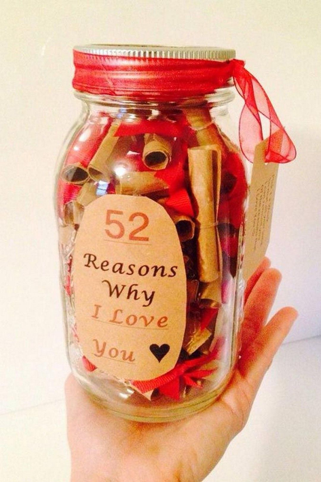 Diy Gifts For Boyfriend Jar