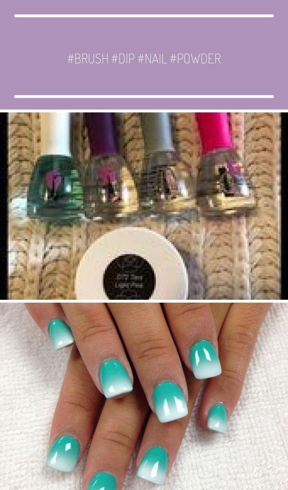 Brush Dip Nail Powder pr Revel Set softener Revel