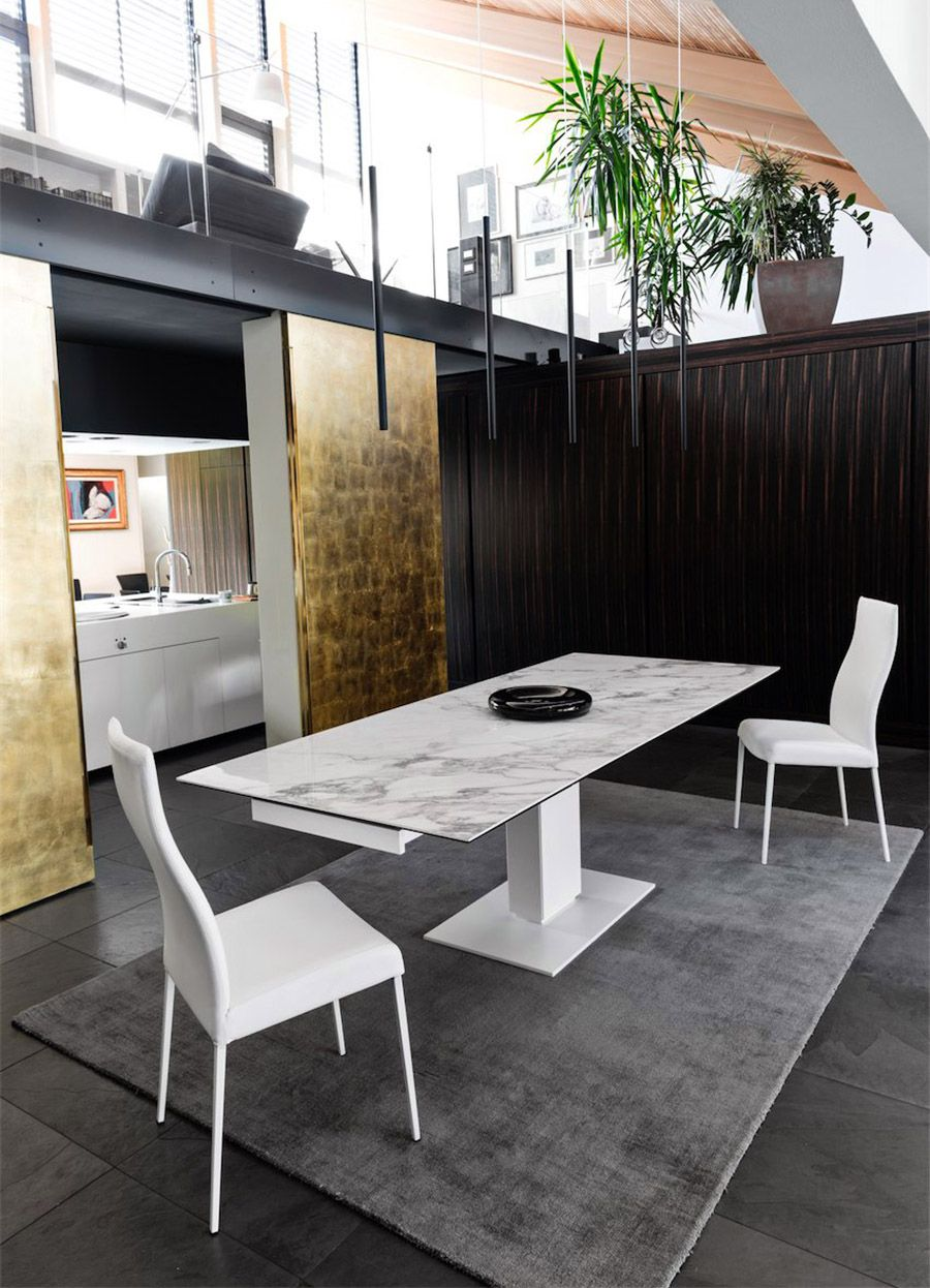 Calligaris The Stylish Echo Dining Table Is Designed By Studio  # Muebles Gautier Espana