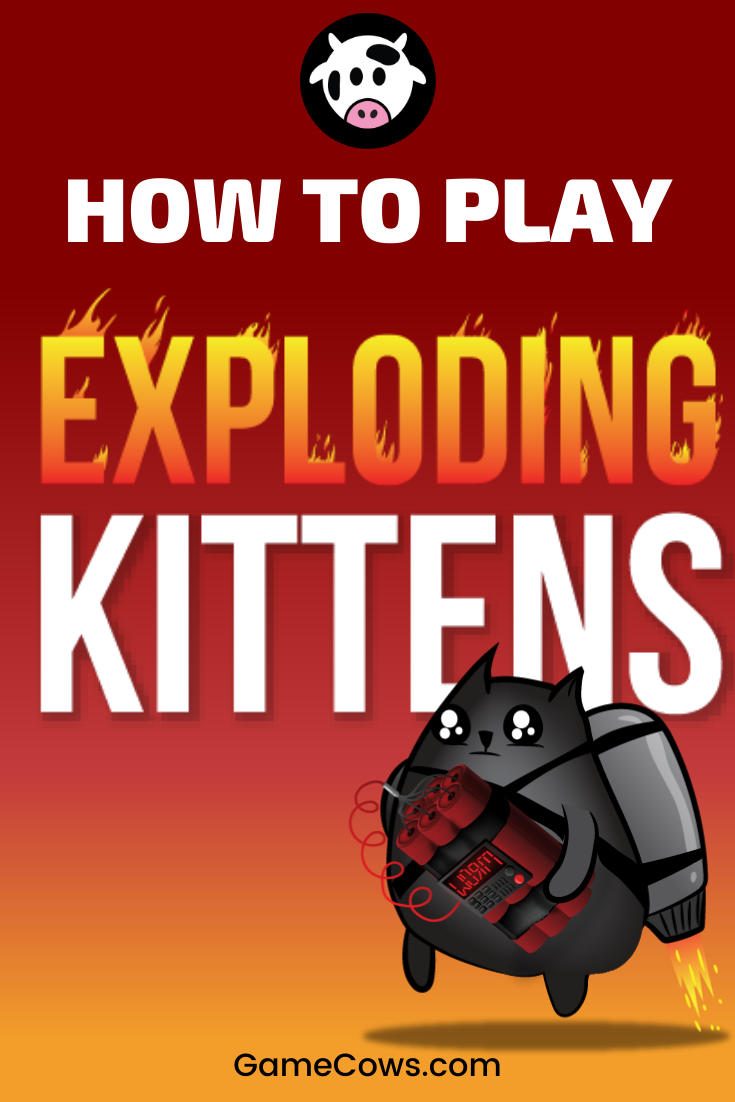 Exploding Kittens Is An Insane Party Card Game From The Creator Of Theoatmeal Com Along With His Particular Art In 2020 Party Card Games Family Game Night Board Games