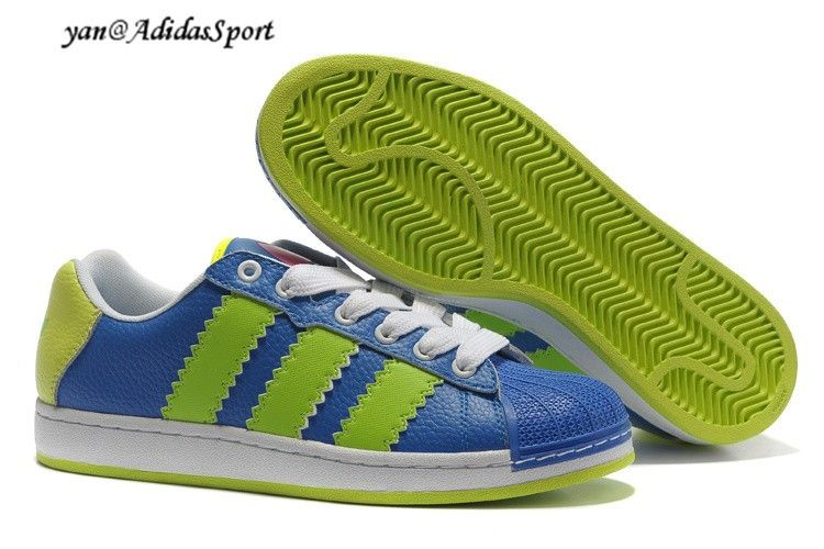 best service dbb82 f8390 Adidas Ultra Stars UFO DJs sneakers blue green yellow White Rose Collection  HOT SALE! HOT