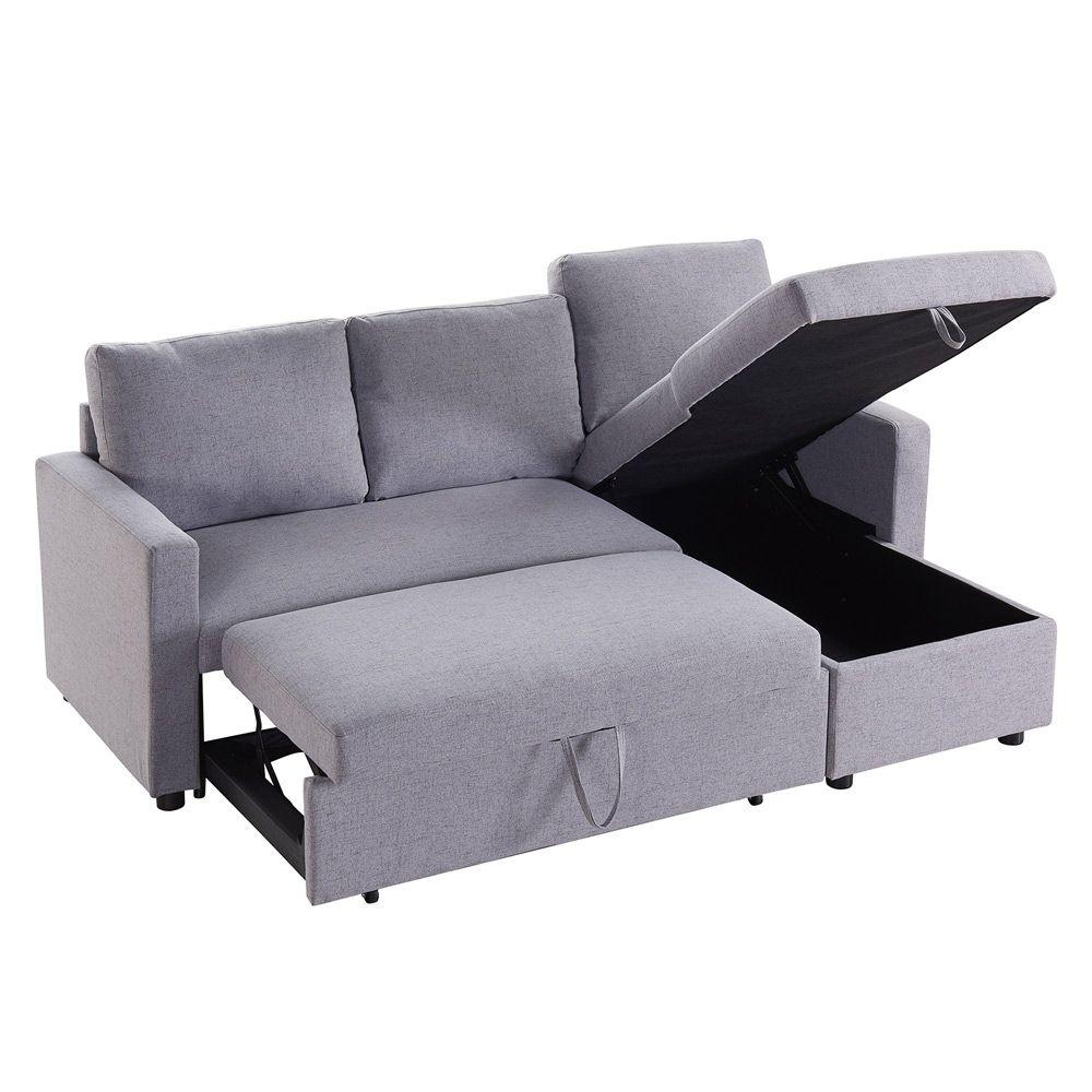 Futon Sofa Bed With Storage