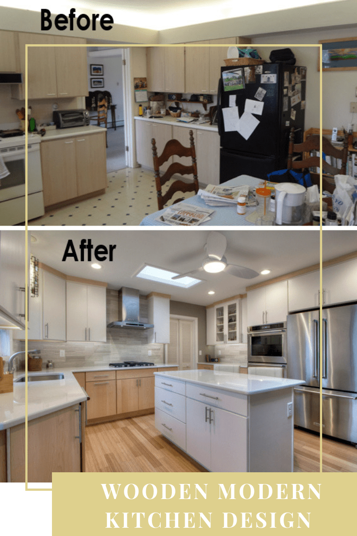 30 Small Kitchen Remodel Ideas Before And After 2020 Trend In 2021 Kitchen Remodel Small Simple Kitchen Design Modern Kitchen Design
