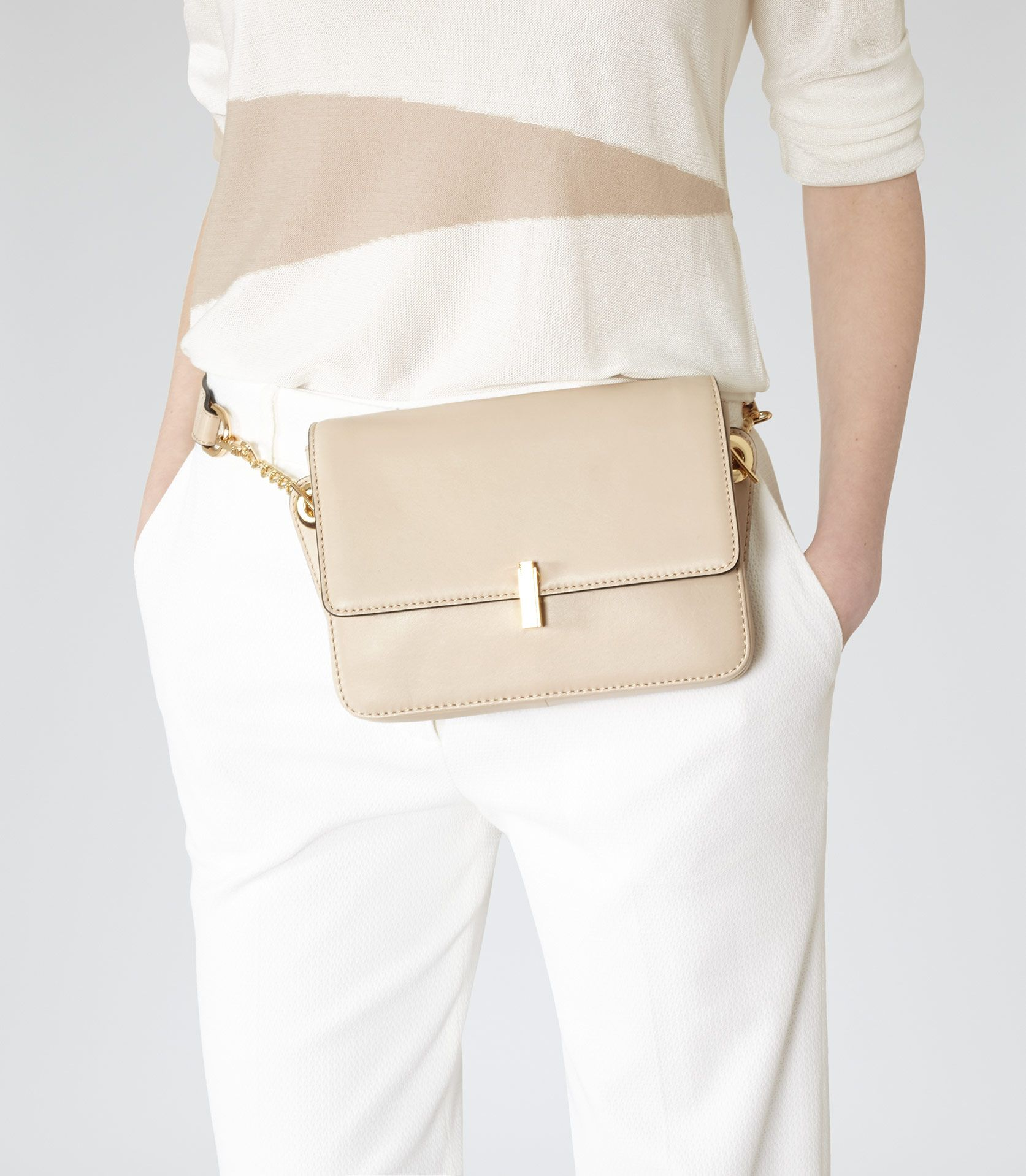 Nude Mini Shoulder / Bum Bag