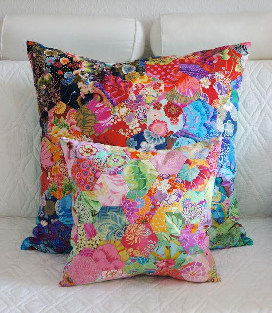 meine quilts und ich kissen kissen deko und stoffe. Black Bedroom Furniture Sets. Home Design Ideas