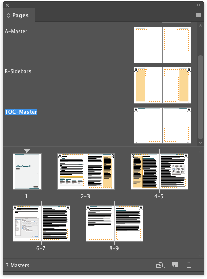 Indesign Template Of The Month Manual  IndesignsecretsCom