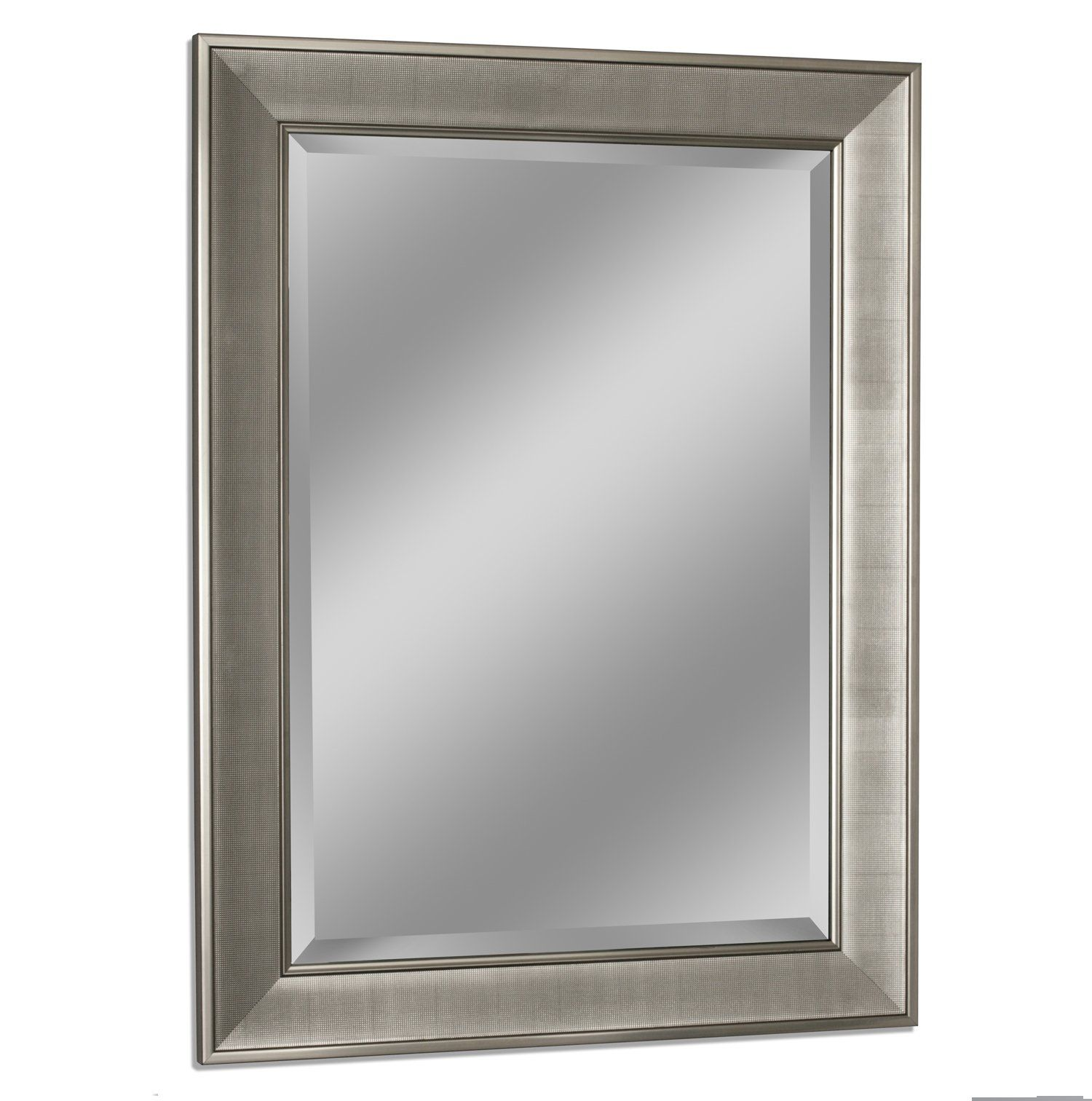 Headwest 8013 Pave Wall Mirror in Brush Nickel For more