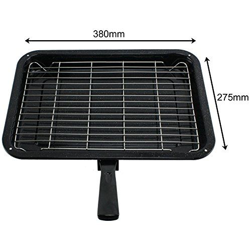 Spares2go Small Grill Pan Rack Detachable Handle For Brandt Oven Cookers Continue To The Product At The Affiliate Lin Small Grill Oven Cooker Whirlpool Oven