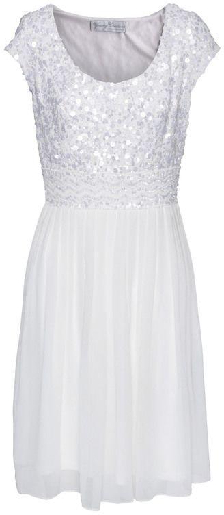 Young Couture By Barbara Schwarzer Glam Sequin White Schwarz Produkt