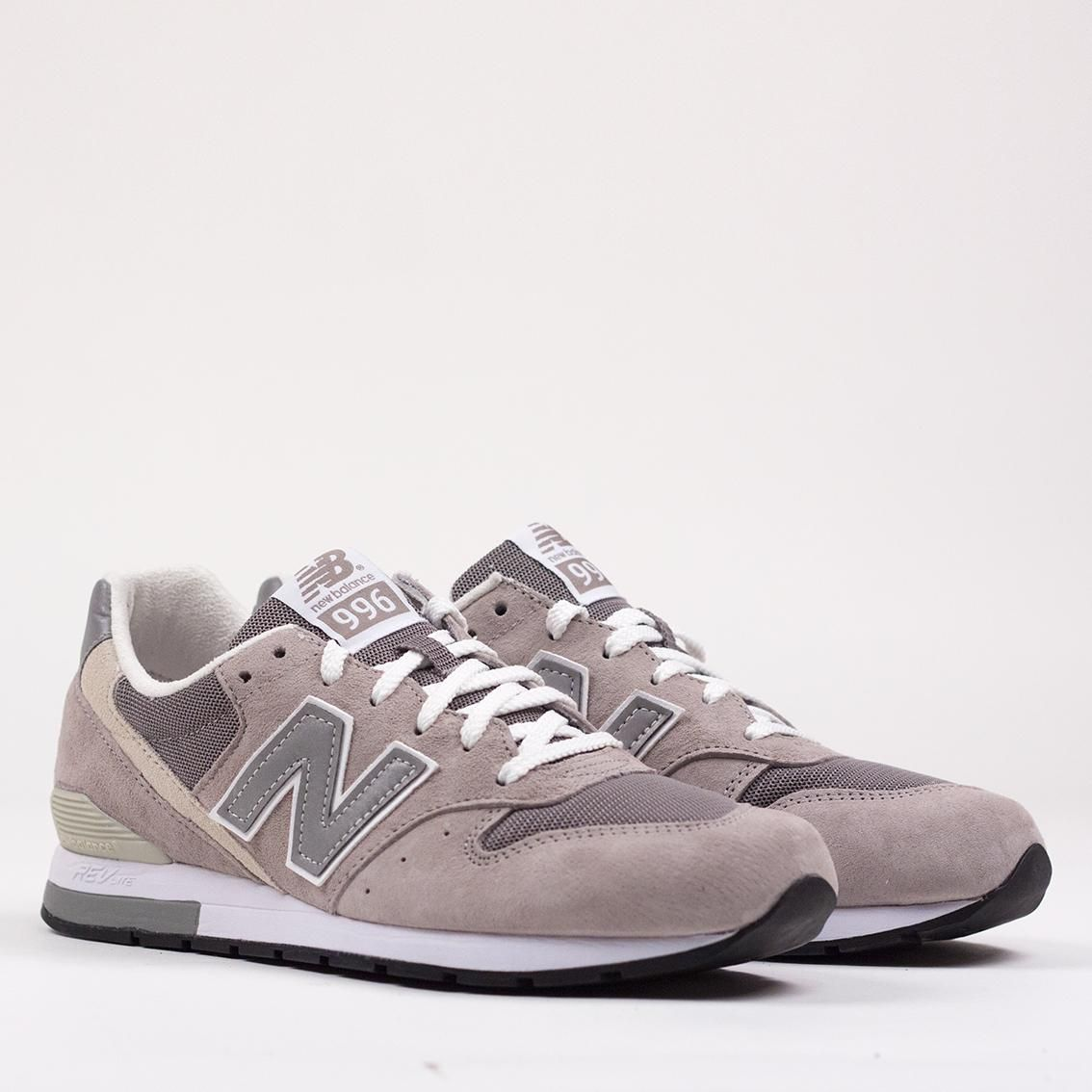New Balance 996 Grey Suede MRL996AG