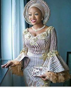 2019 Beautiful Asoebi Headwrap (Gele) Styles #afrikanischemode