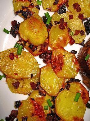 Bratkartoffeln vom Blech #sausagepotatoes