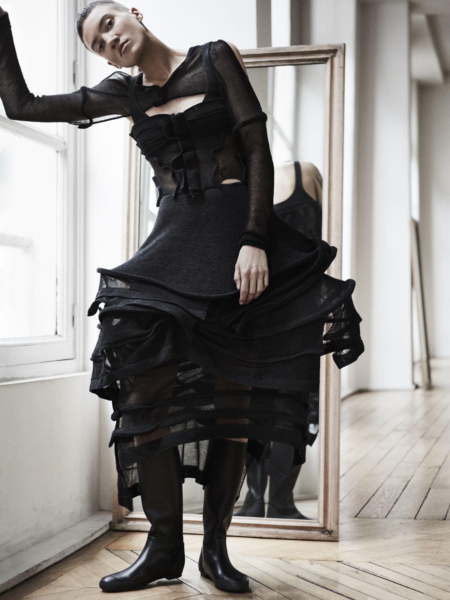 Exclusive: Yohji Yamamoto On Influences And Androgyny   V Magazine