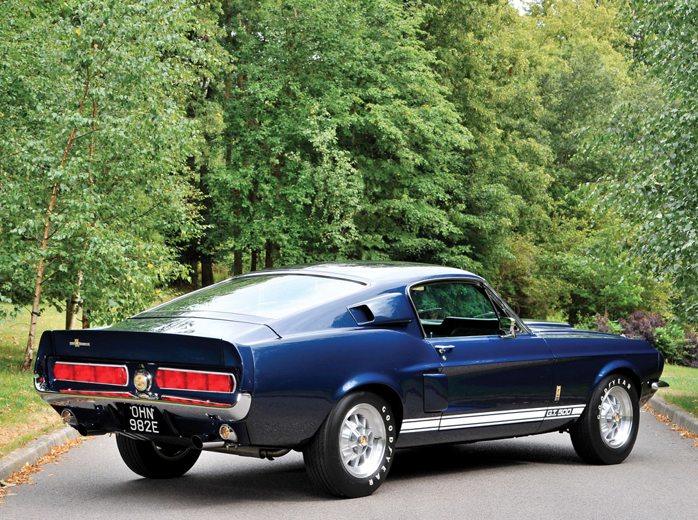 Car Porn: A Dangeously Cool 1967 Shelby GT500 Fastback
