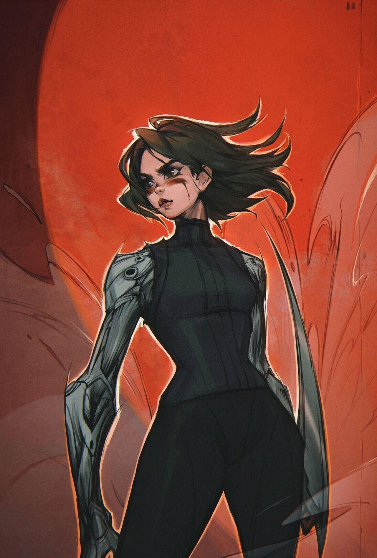 Cyberpunk Character Tech + Cyberpunk Character - #character #cyberpunk - #BladeRunner