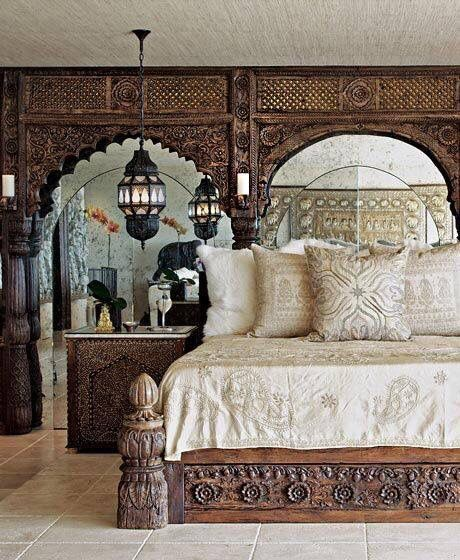 rajasthani style bedroom home sweet home pinterest wohnen schlafzimmer und afrika. Black Bedroom Furniture Sets. Home Design Ideas