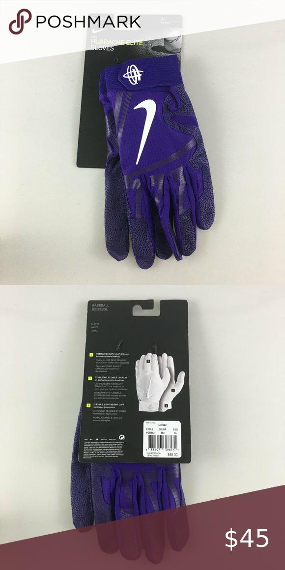Nike Huarache Elite Baseball Batting Gloves XL   Batting gloves ...