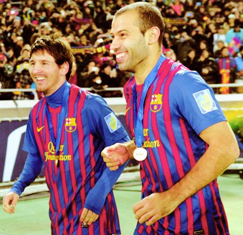 Lionel Messi and Javier Mascherano!