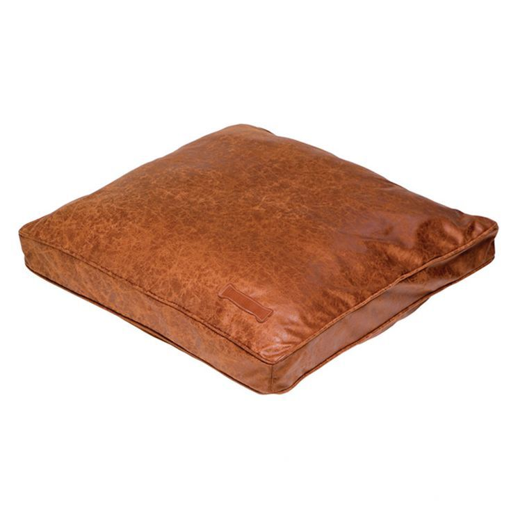 Faux Leather Pillow Dog Bed Leather Dog Bed Faux Leather Dog