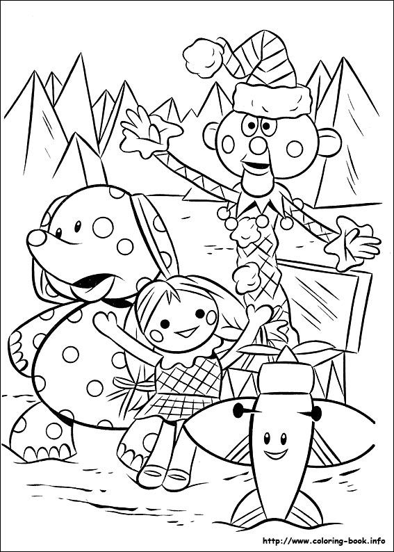 Rudolph the Red-Nosed Reindeer coloring picture | Rudolph the Red ...