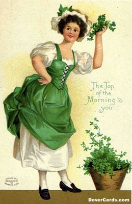 Irish Girl for Cincinnati's St. Patrick's Day Parade