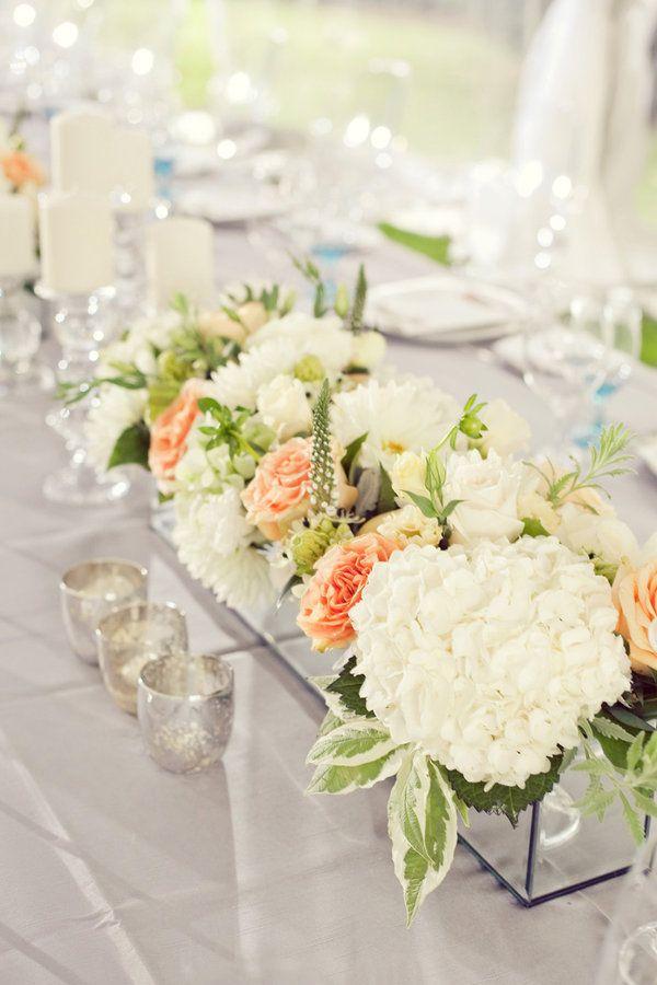 rose centerpieces wedding