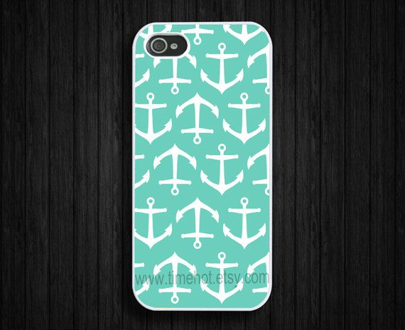 iphone 5 caseTiffany Blue anchor iPhone 5 case iphone 5 by timehot, $7.99