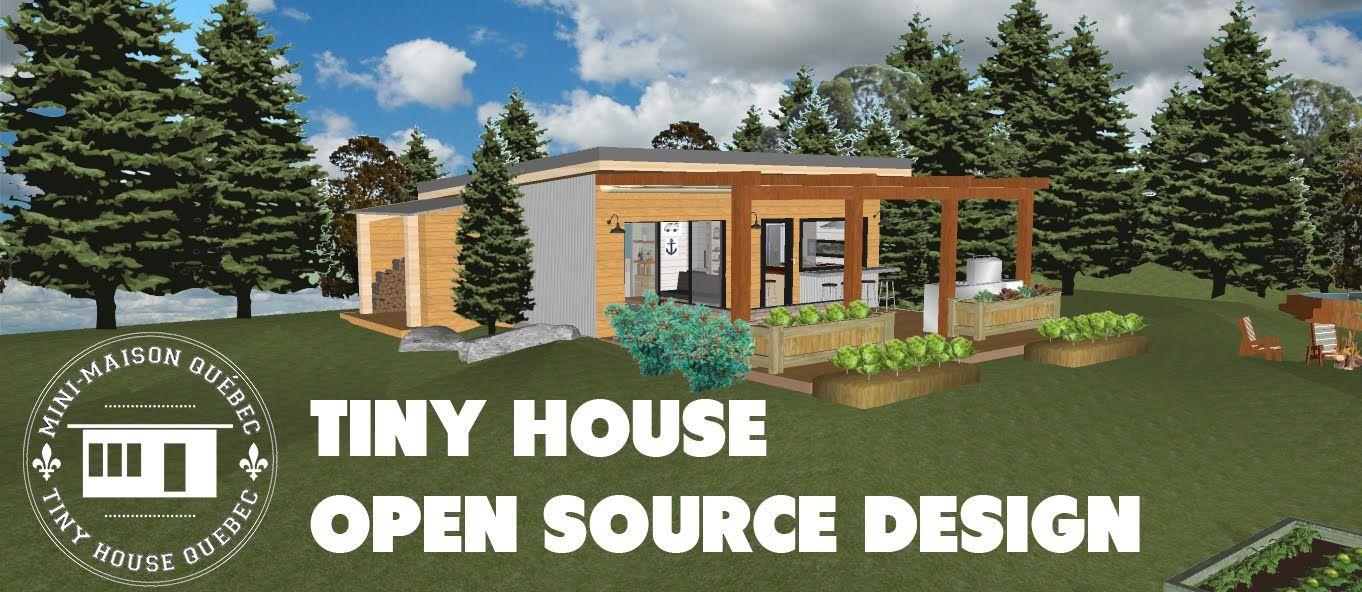 Mini Maison Quebec Tiny House Quebec Design Open Source No 1