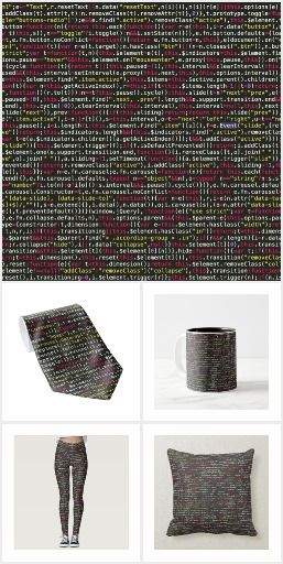 Developer's Terminal Pattern Collection <> - Our terminal screen pattern is a great choice for both those who spend their lives in code and those looking for gifts to their developer friends! #zazzle #developer #development #code #coder #coding #engineer #tech #technology #python #javascript #webdevelopment #artprint #gift #giftideas #design #wedding #unique #homedecor #decoration #dining #accessories #clothing