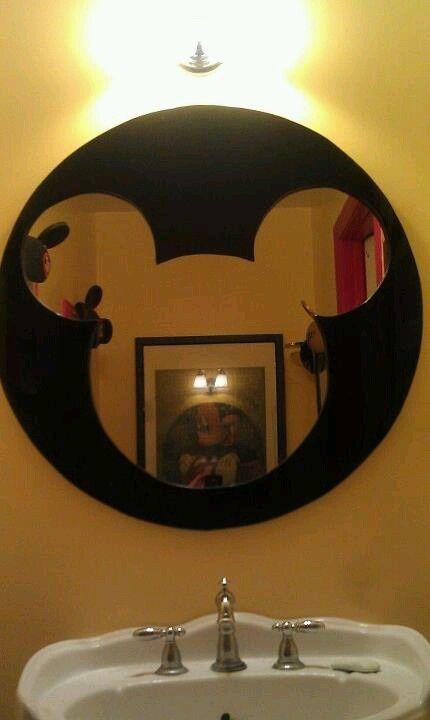 Mickey Mouse Bathroom Mirrors Mickey Mirror My Husband