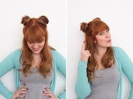 princess leia hair down