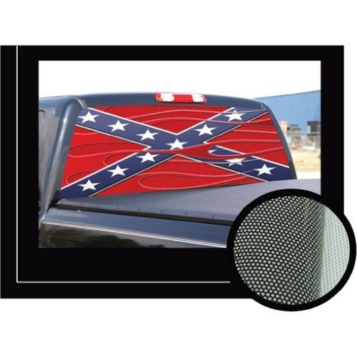 Graphics For Rebel Flag Rear Window Graphics Wwwgraphicsbuzzcom - Chevy truck stickers for back window