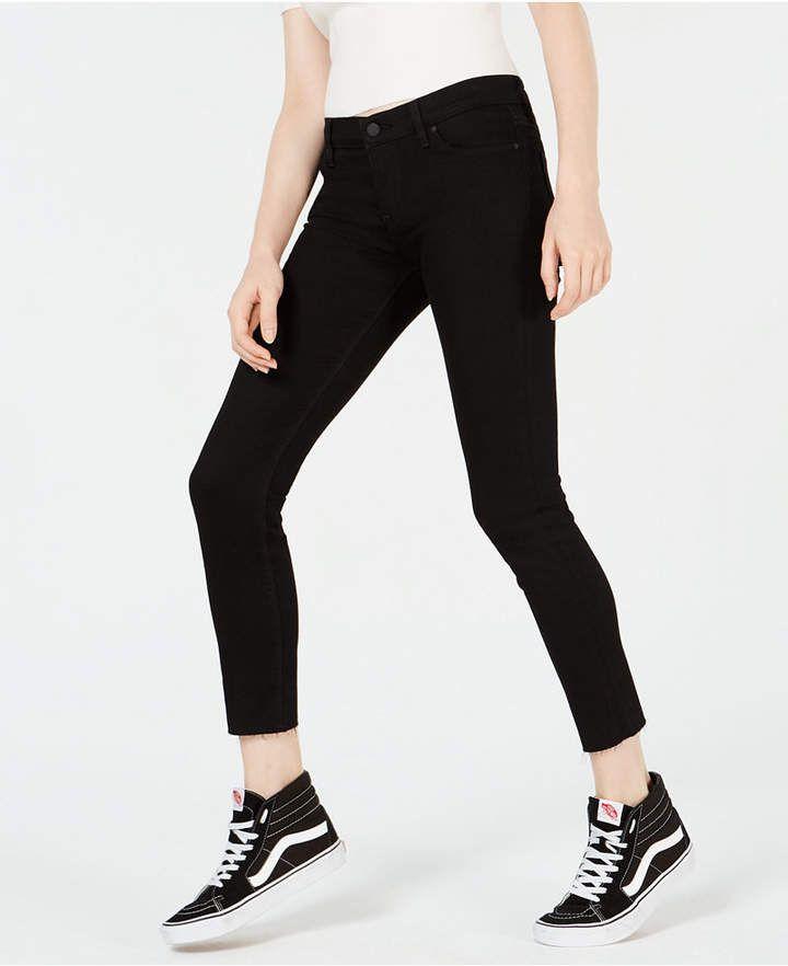 637f58109be Hudson Jeans Leeloo Super Skinny Crop ($198) ❤ liked on Polyvore   p o l y  v o r e   Hudson jeans, Jeans, Super skinny
